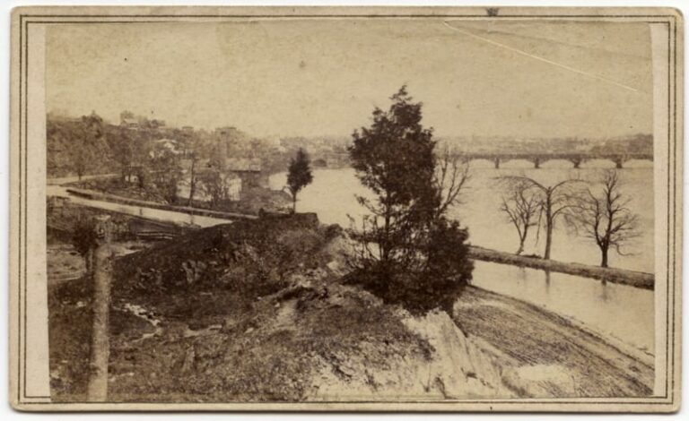 C&O Canal in 1860
