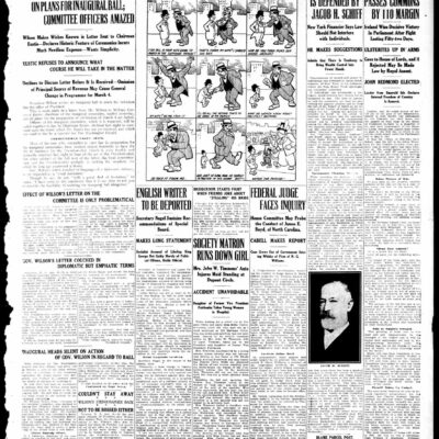The Washington Herald on January 17th, 1913