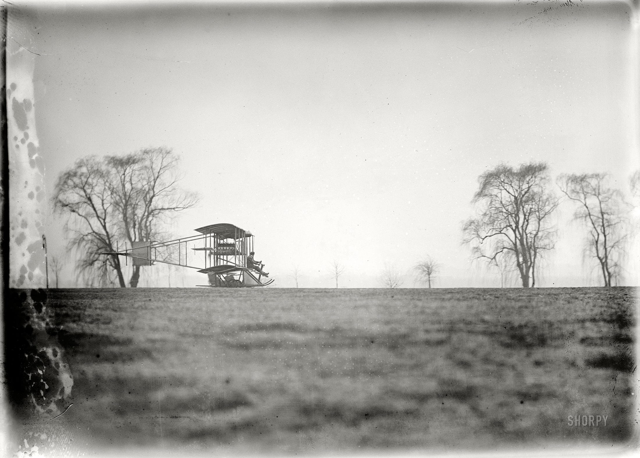 "Washington, D.C., or vicinity circa 1911. ""Flights and tests of Rex Smith plane flown by Antony Jannus."""