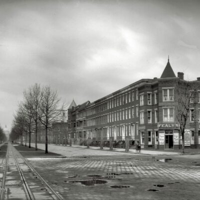 Excellent View Down Pennsylvania Ave. in 1920