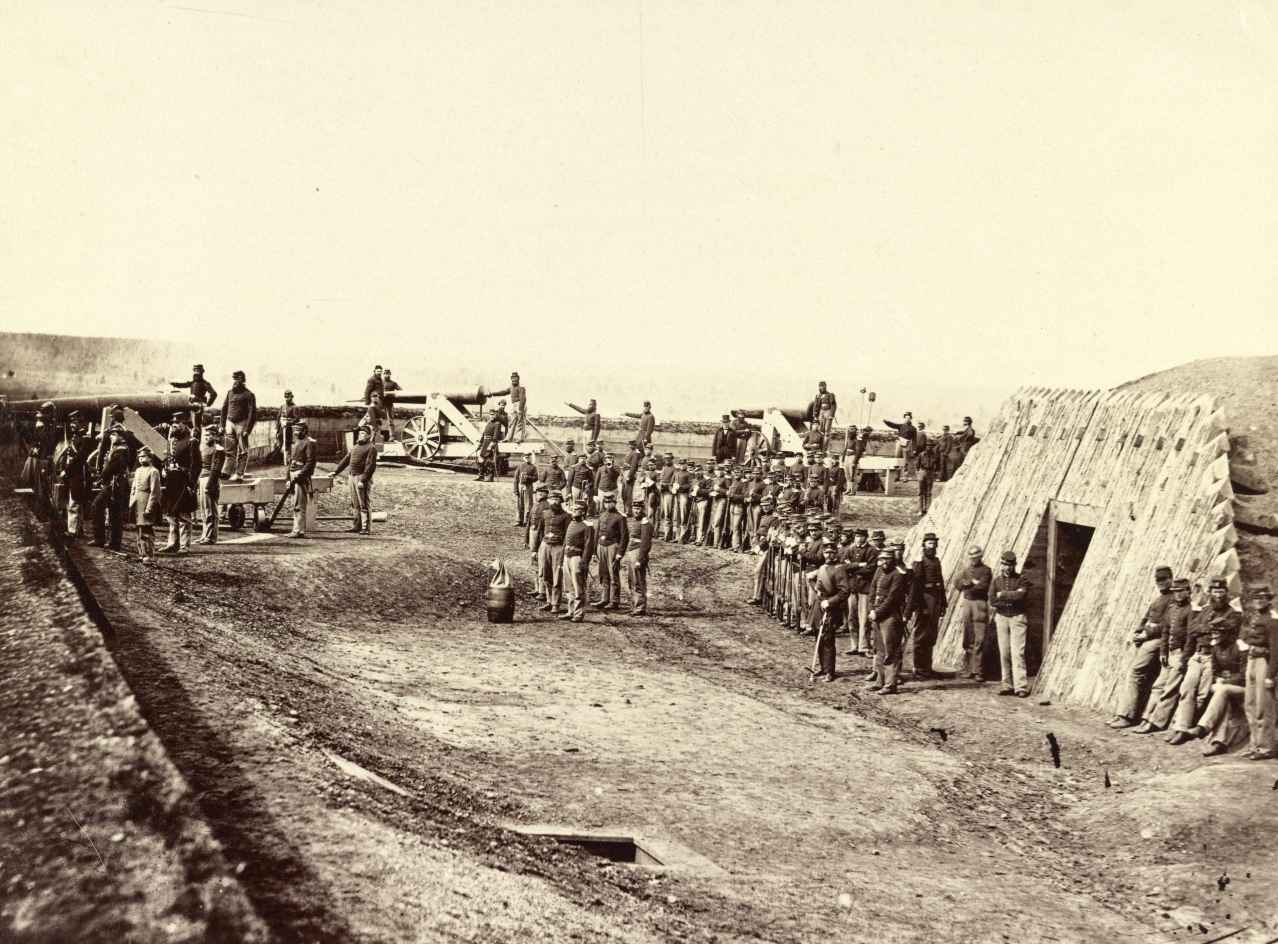 Amazing Civil War Photos of Fort Totten