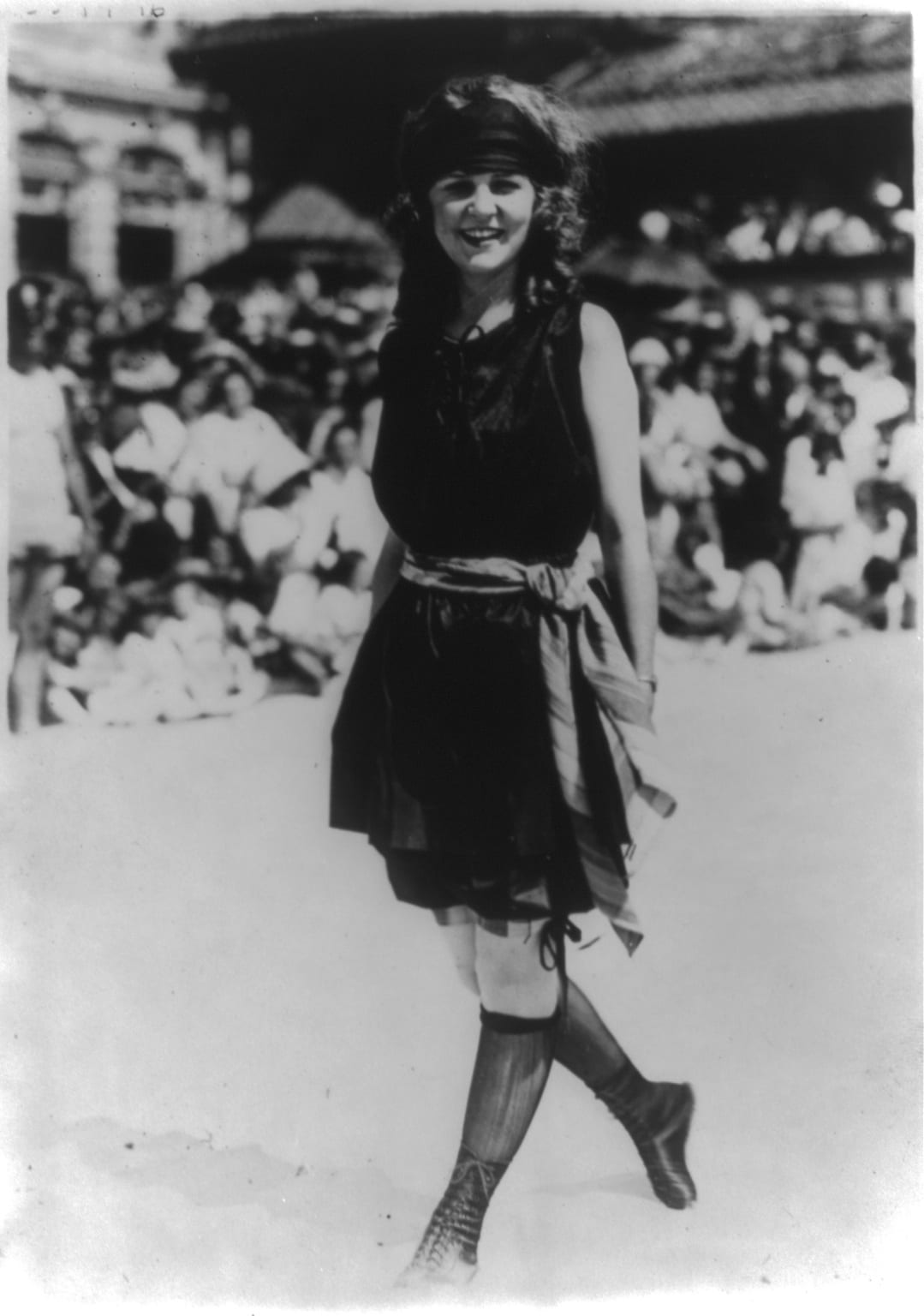Margaret Gorman in 1921 (Library of Congress)