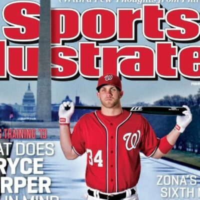 Bryce Harper Sports Illustrated cover - Wednesday, February 20th, 2013