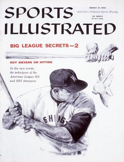 Roy Sievers Sports Illustrated Cover
