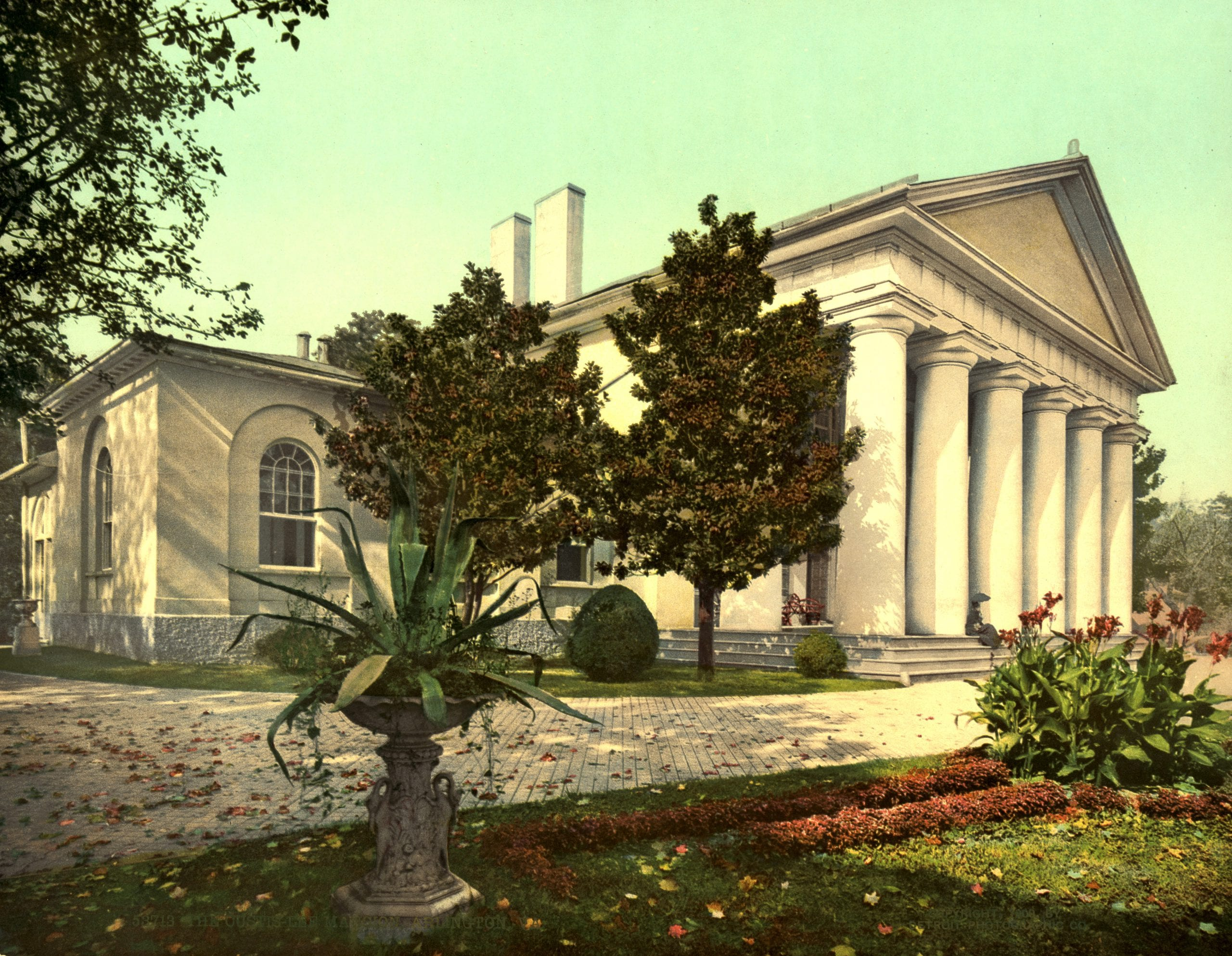 Arlington House in 1900