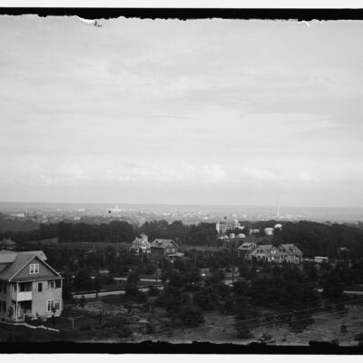 A 1914 Bucolic View of Washington from American University