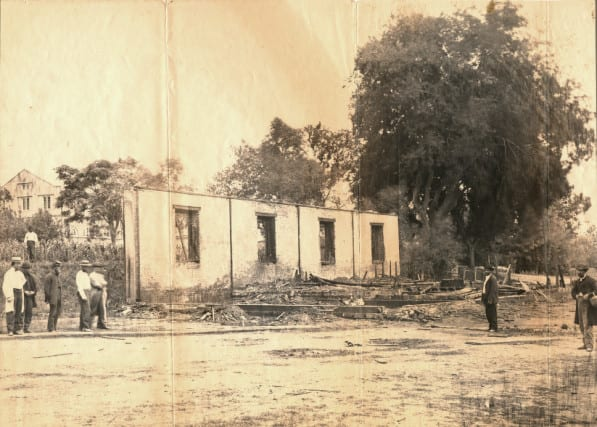 View of Destroyed Arsenal Building June 17, 1864, Courtesy National Defense University