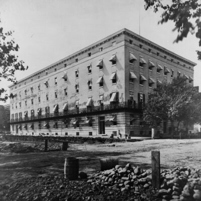 Winder Building in the 1870s