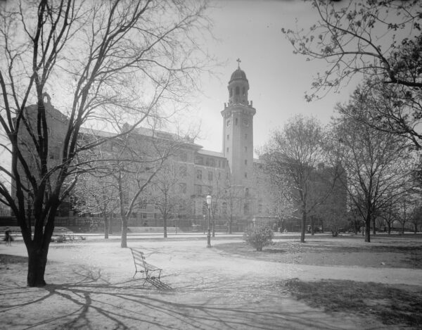 Providence Hospital in the early 1900s (Library of Congress)