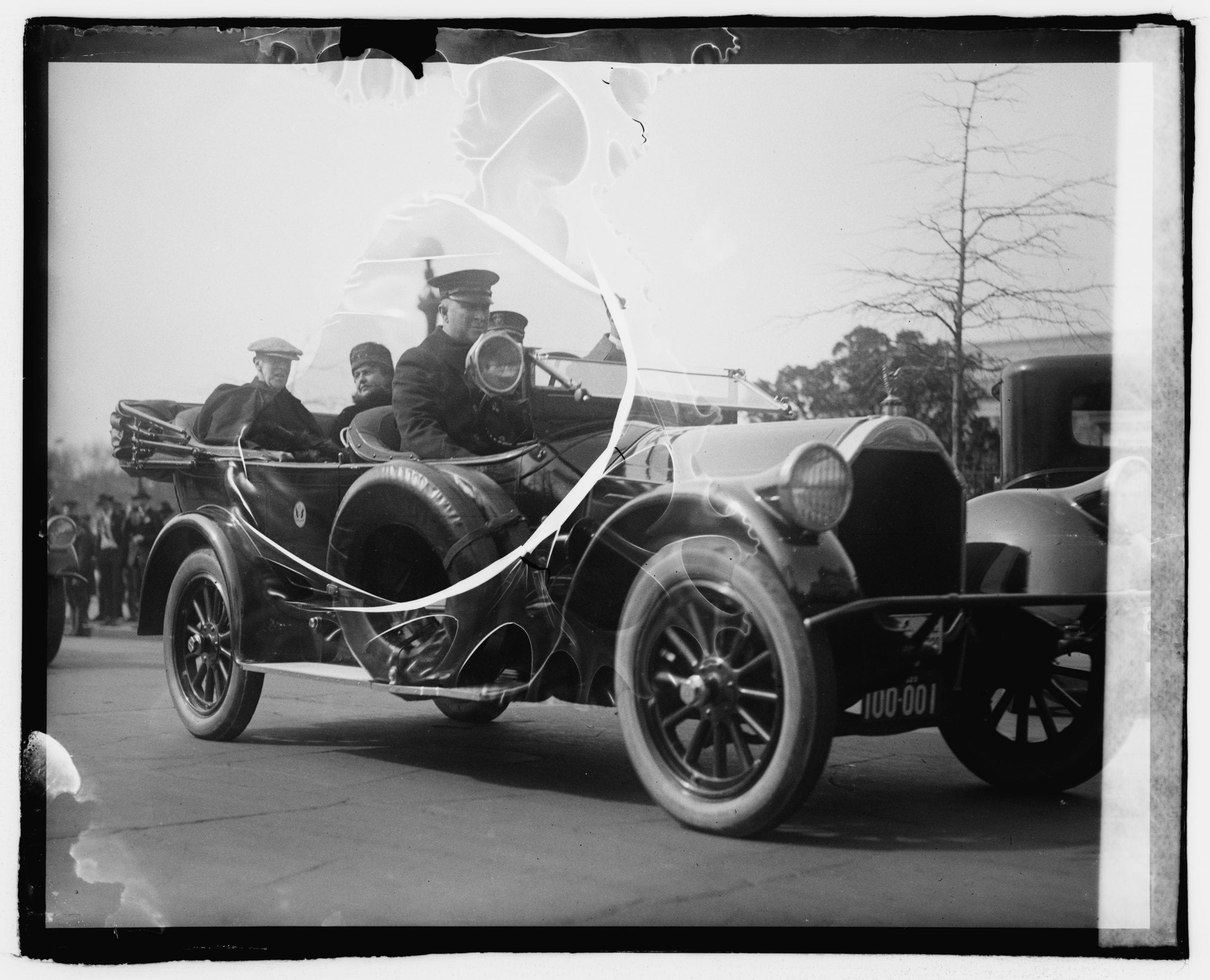 President and Mrs. Wilson (March 20th, 1920)