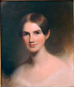 Elizabeth Lee Blair painting by Thomas Scully