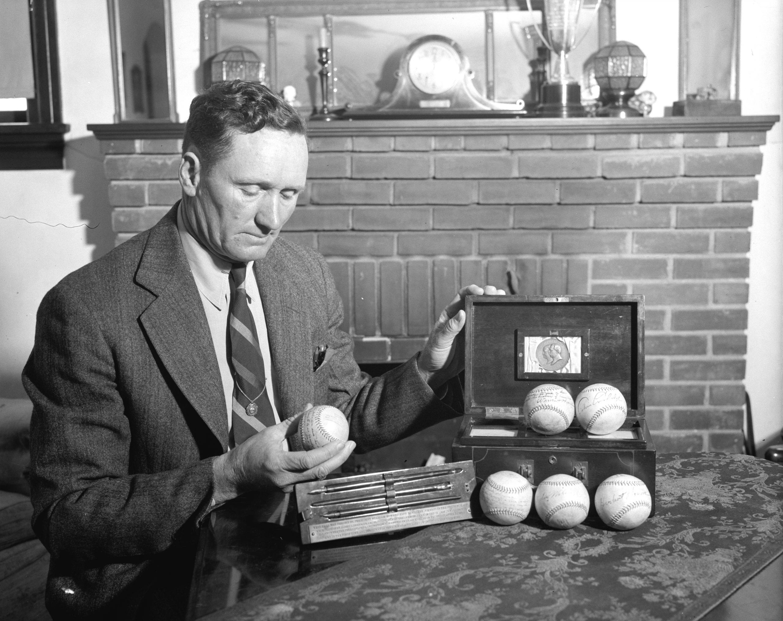 Walter Johnson in 1939