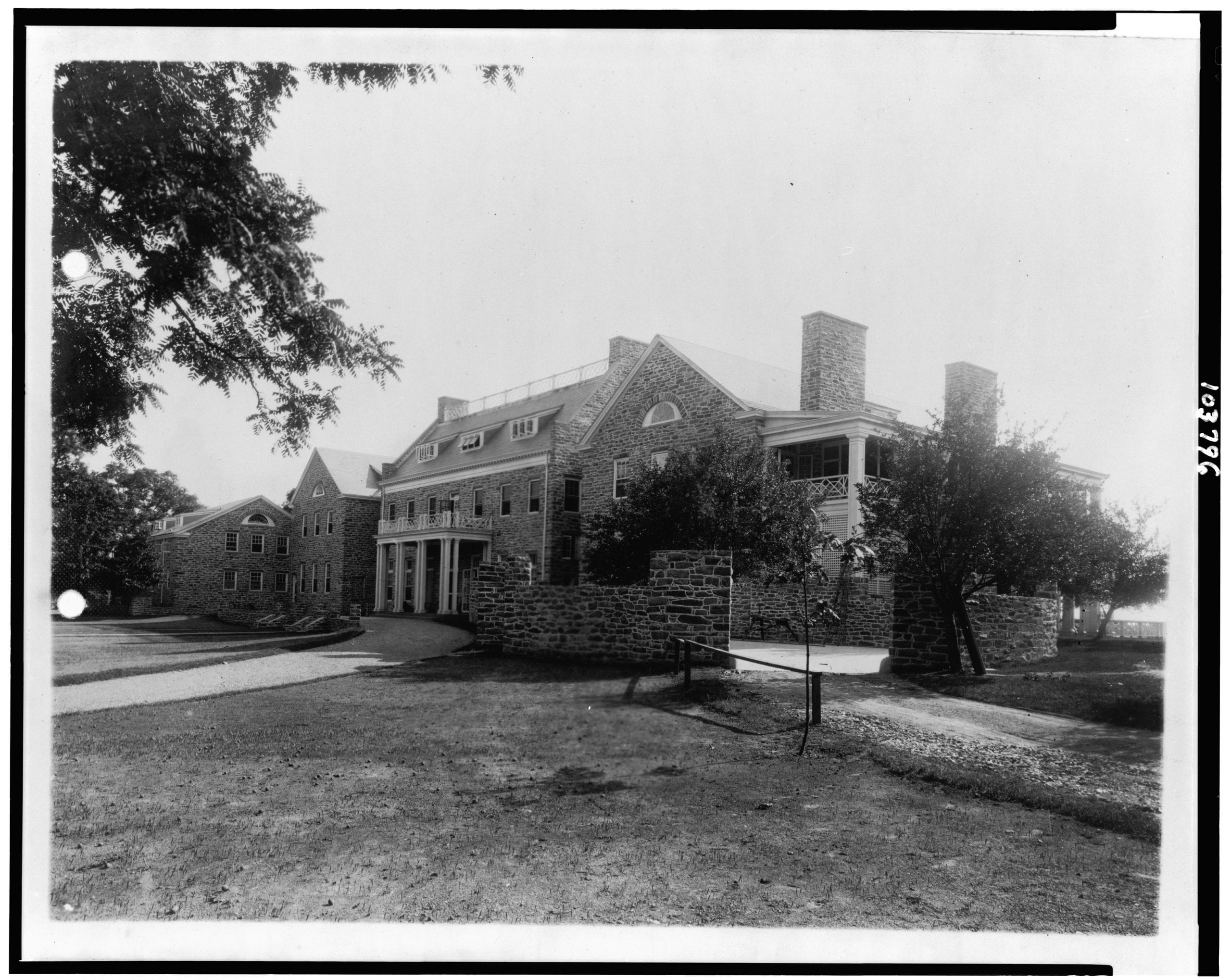 Photos of the Chevy Chase Club in the 1920s