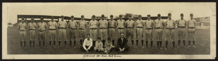 1921 Baltimore Orioles