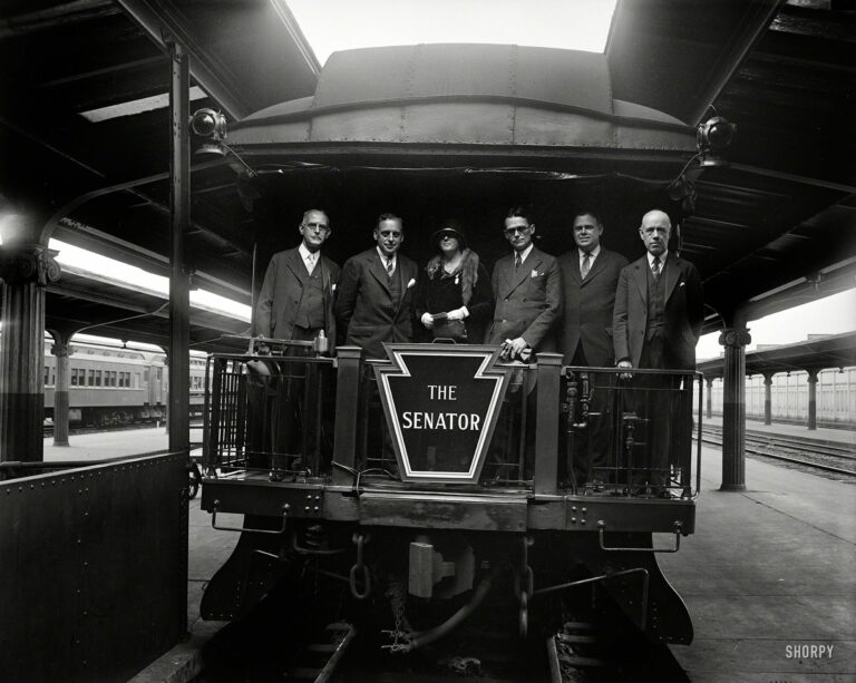 "The Pennsylvania Railroad's ""The Senator"" in 1929"