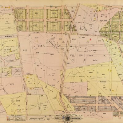 1921 map of Foxhall Crescent