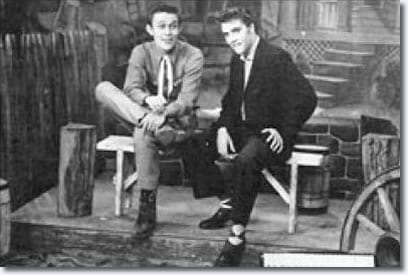 Elvis and Jimmy Dean