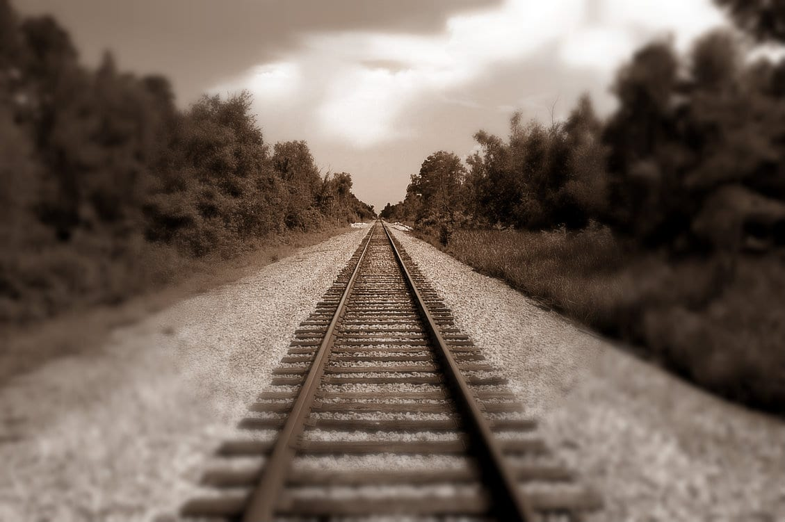 railroad tracks