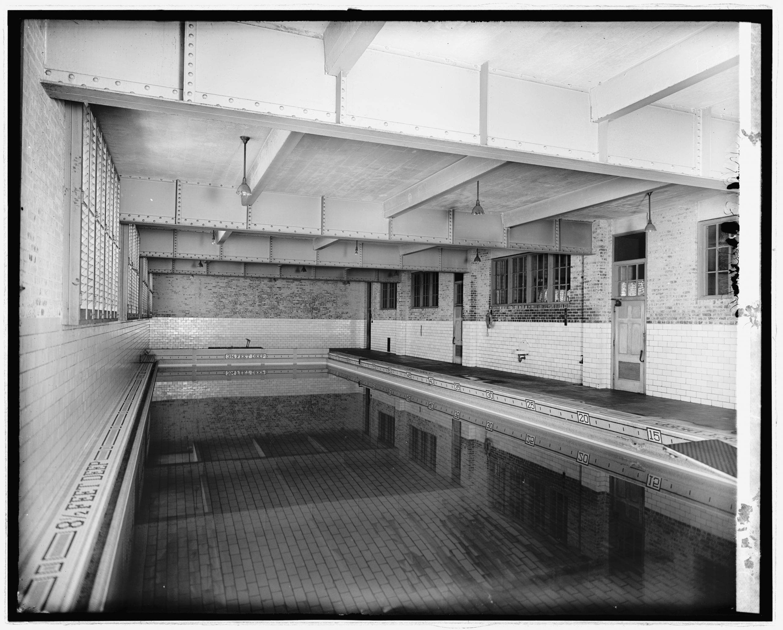 Central High School swimming pool around 1910