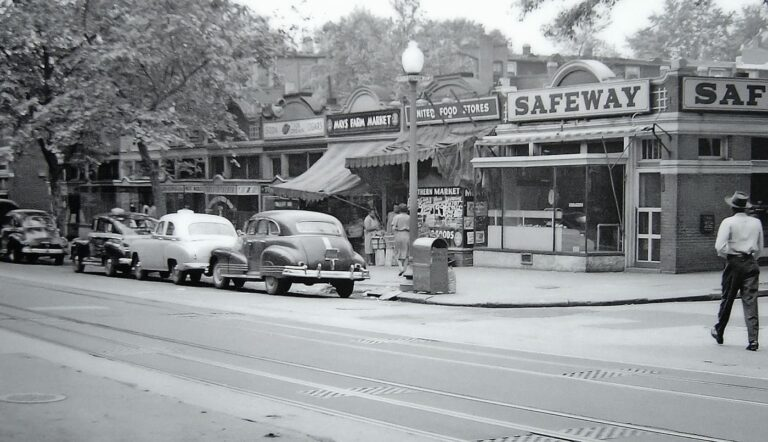 11th and Kenyon St. NW in 1951