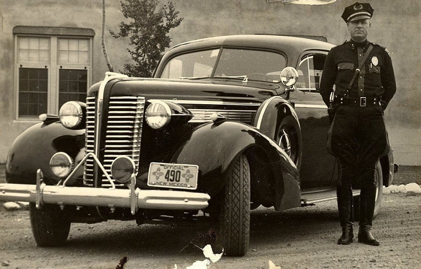 1938 policeman from New Mexico