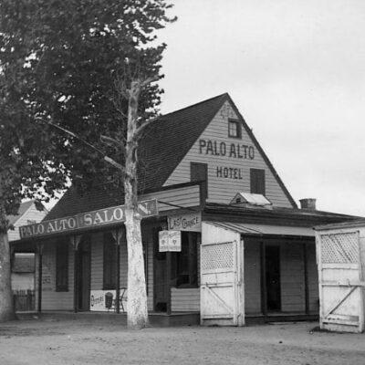 Palo Alto Hotel and Saloon - September 19th, 1899
