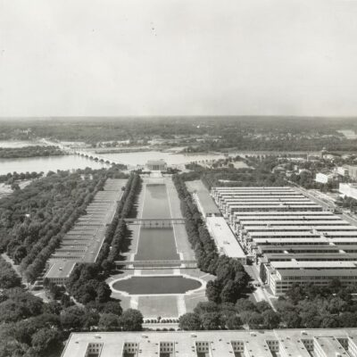 Main Navy and Munitions Buildings in 1942