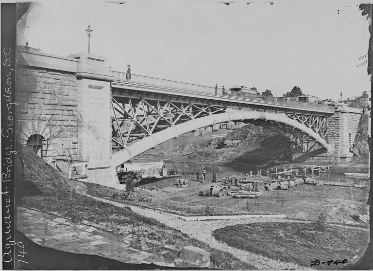 Aqueduct Bridge in the 1860s