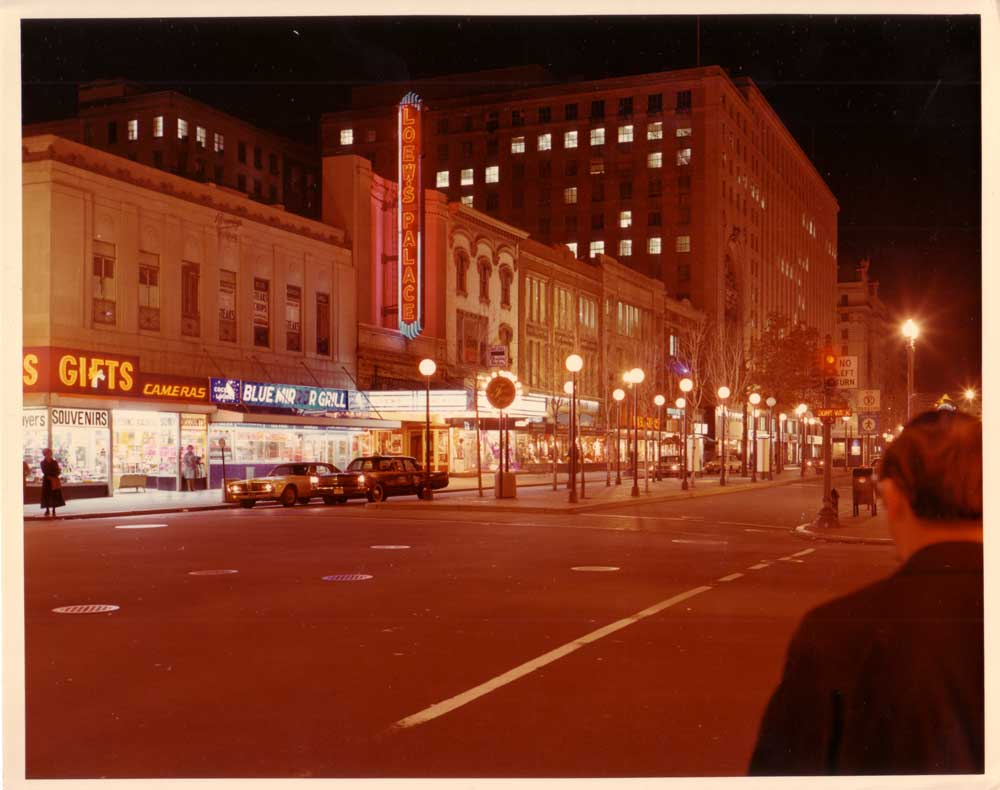 Whoa. Neon Signed F Street in 1970