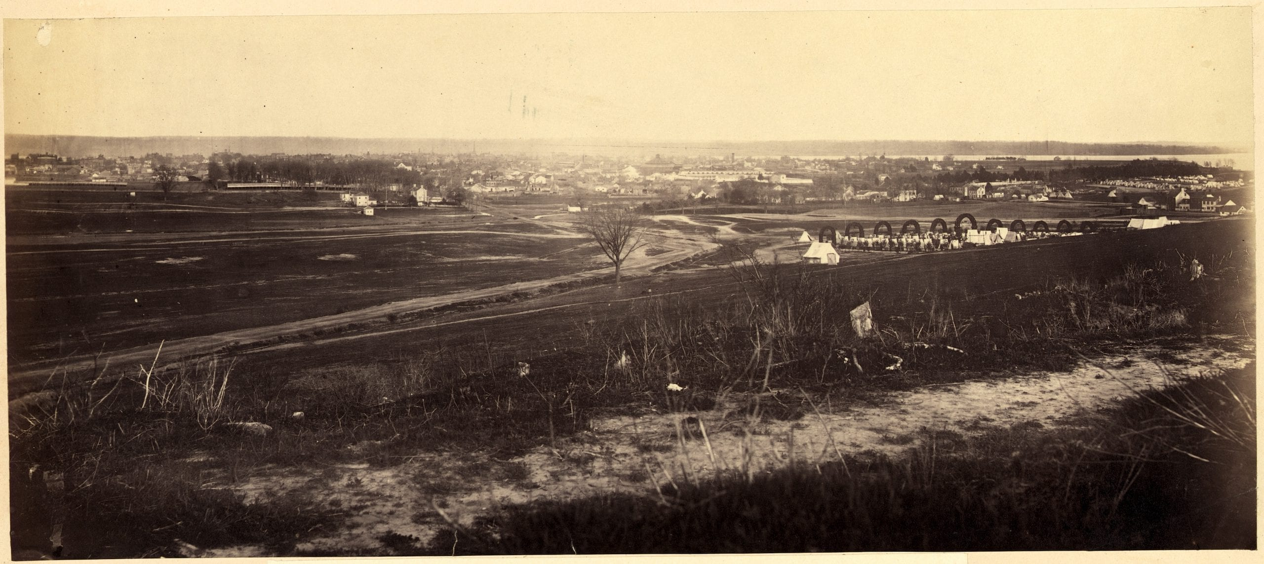 Amazing Detailed Landscape of Alexandria in 1864