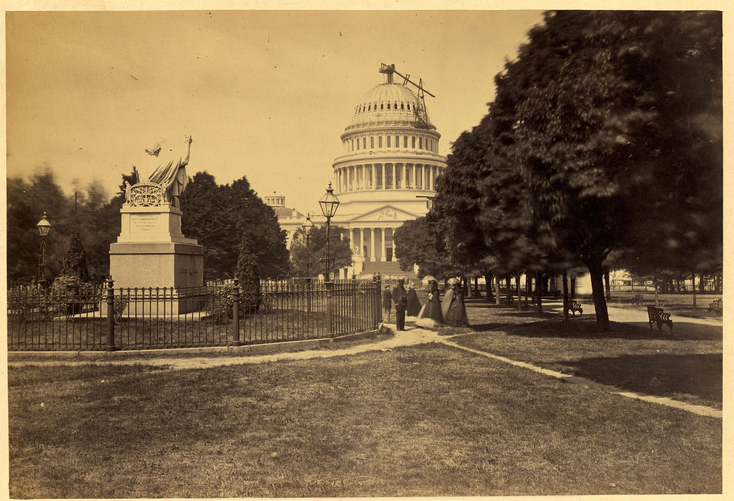 Beautiful View of Capitol Building From The East
