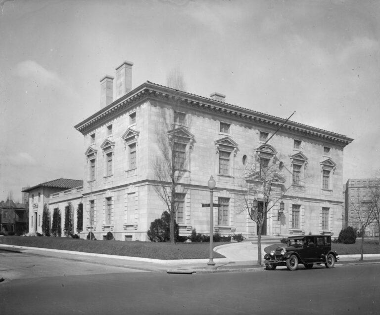 old Italian embassy at 16th and Fuller