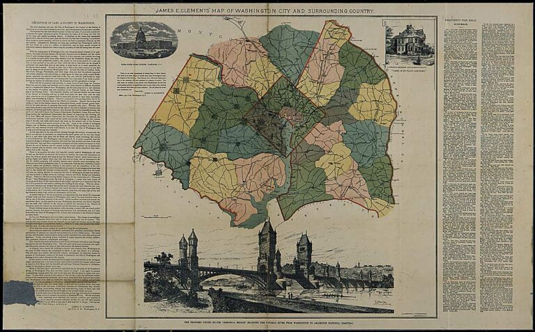 1894 map of D.C.