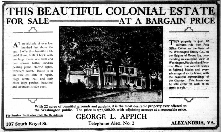 beautiful colonial estate in Alexandria - 102 S. Royal St.