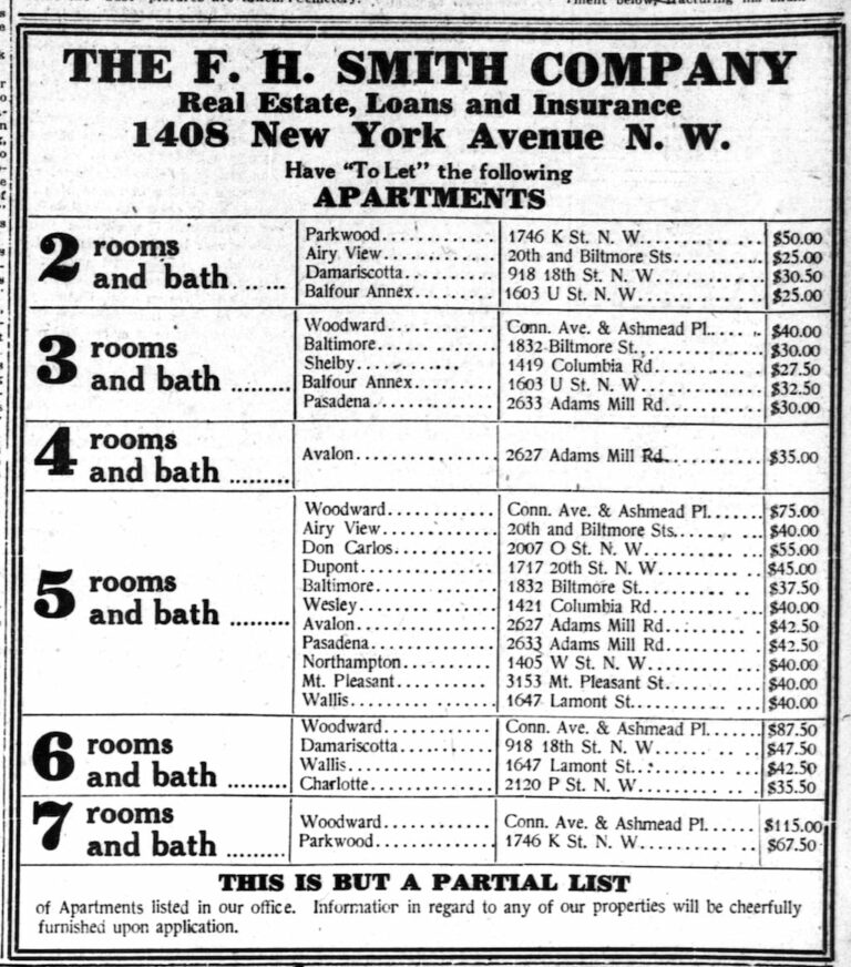 F.H. Smith apartments
