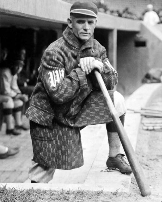 Amazing Checkered Coat on Senators' Skipper Clark Griffith