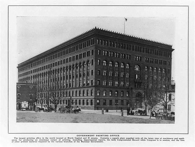 """The """"Largest Printing Office in the World"""" ... in 1916"""