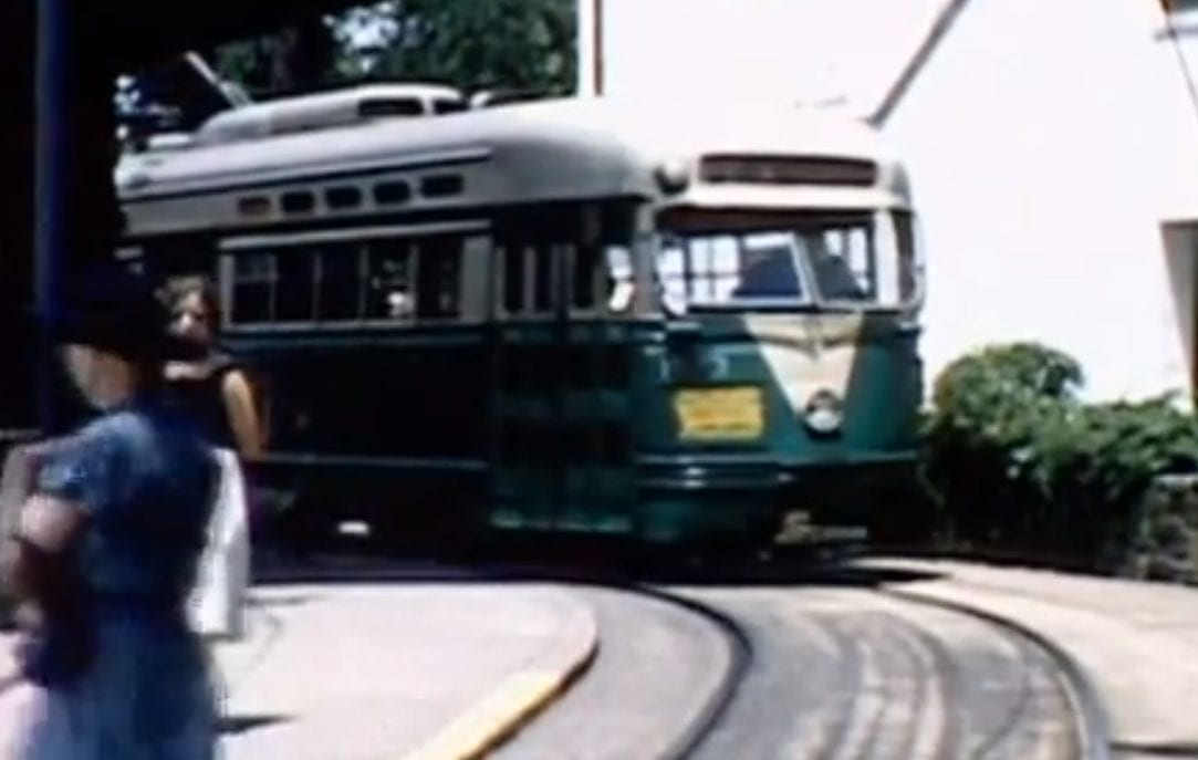 Excellent 1950s Video of 82 Streetcar Line