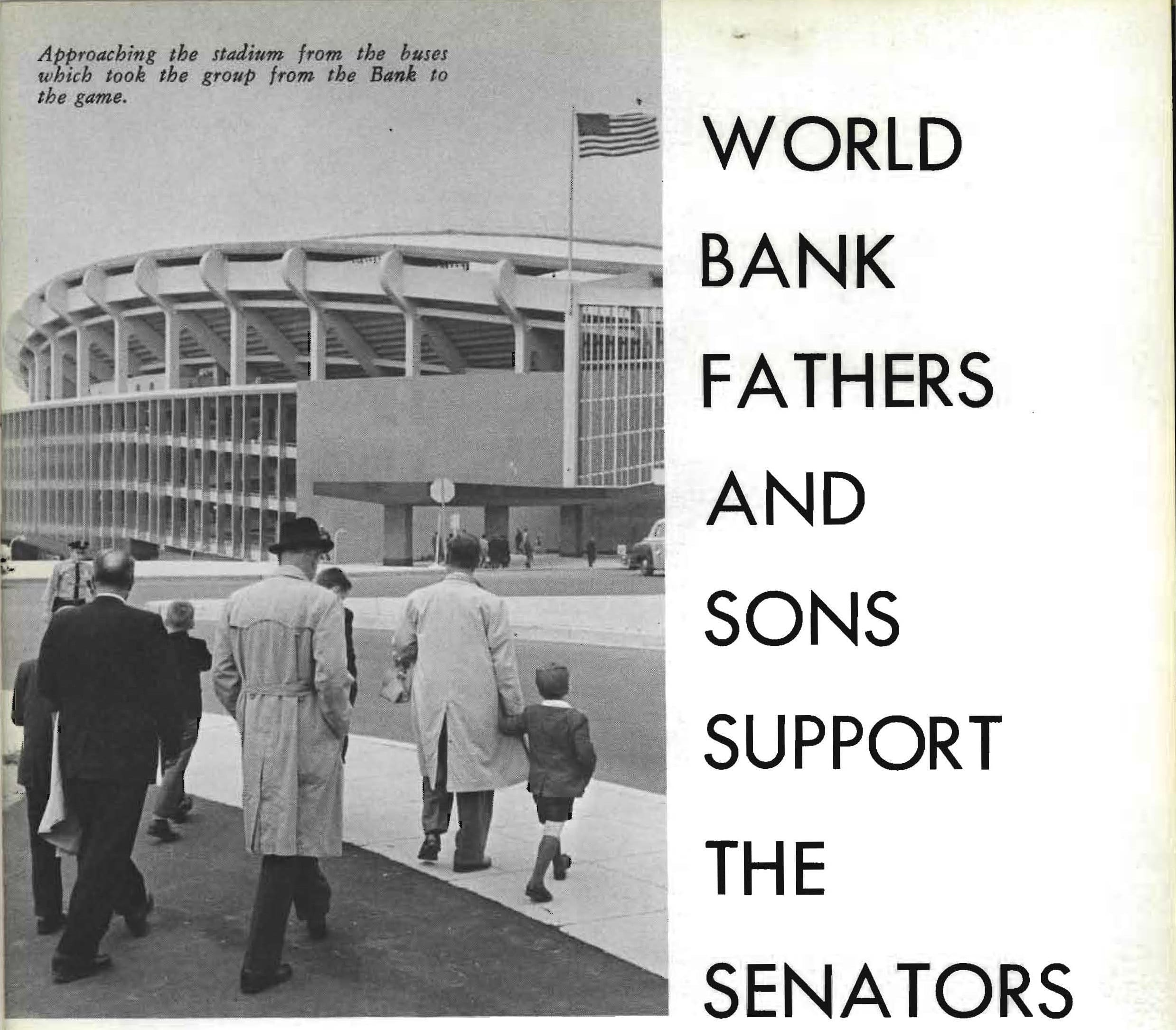 World Bank fathers and sons support the Senators
