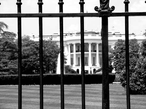 White House fence