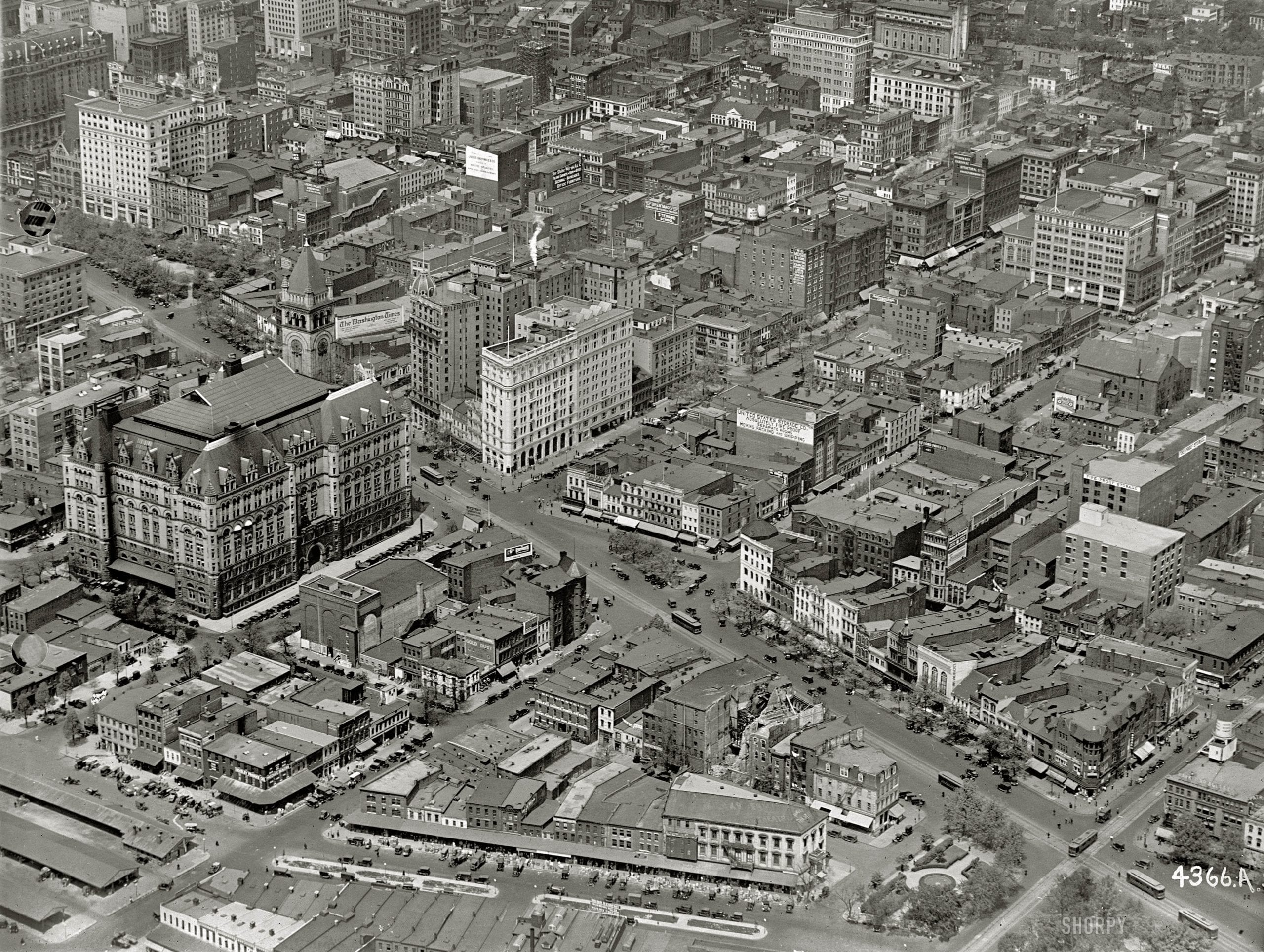 Whoa! Incredible 1922 Aerial Photograph of Pennsylvania Avenue
