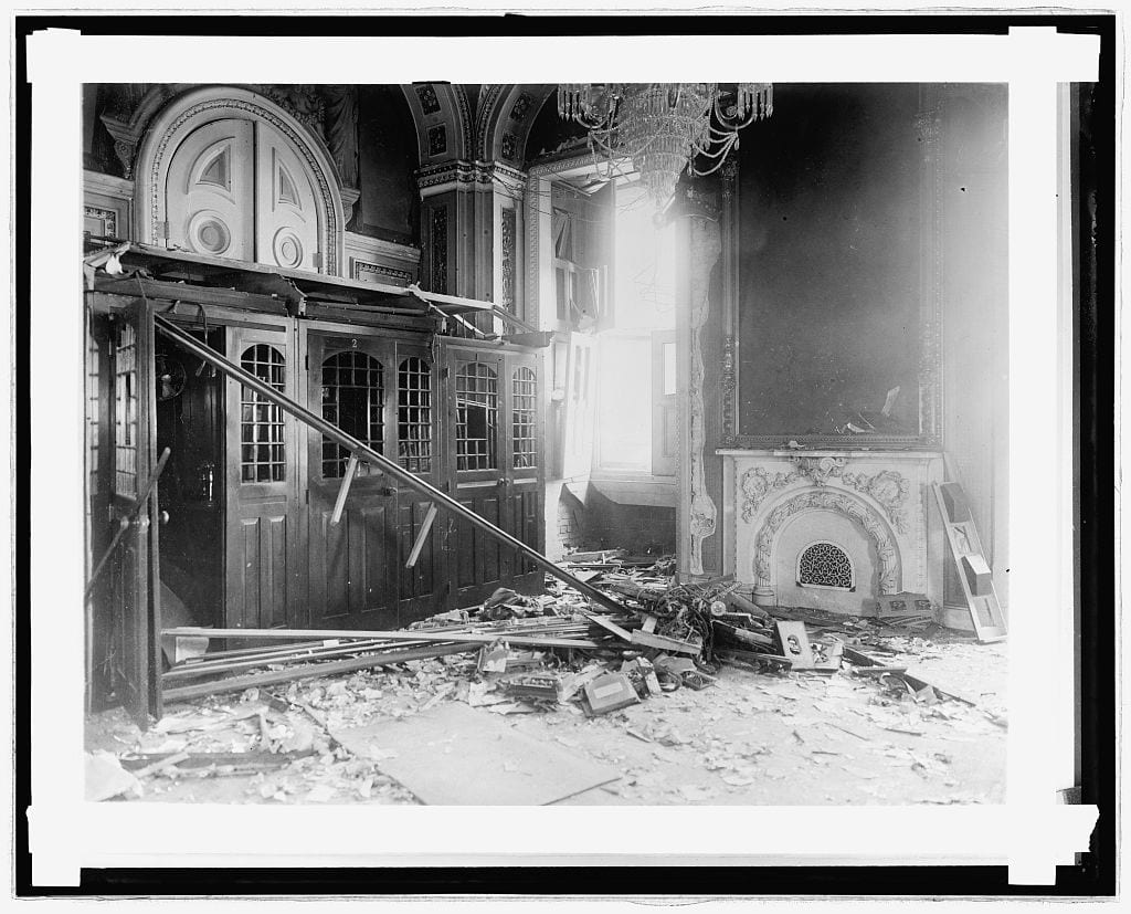 The Capitol Building Bombing (1915)
