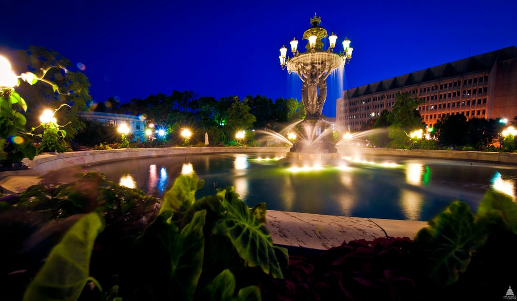 Bartholdi's Fountain of Light and Water