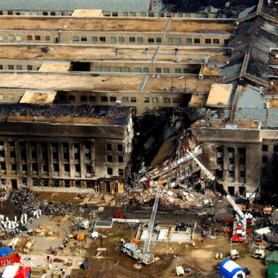aftermath at the Pentagon