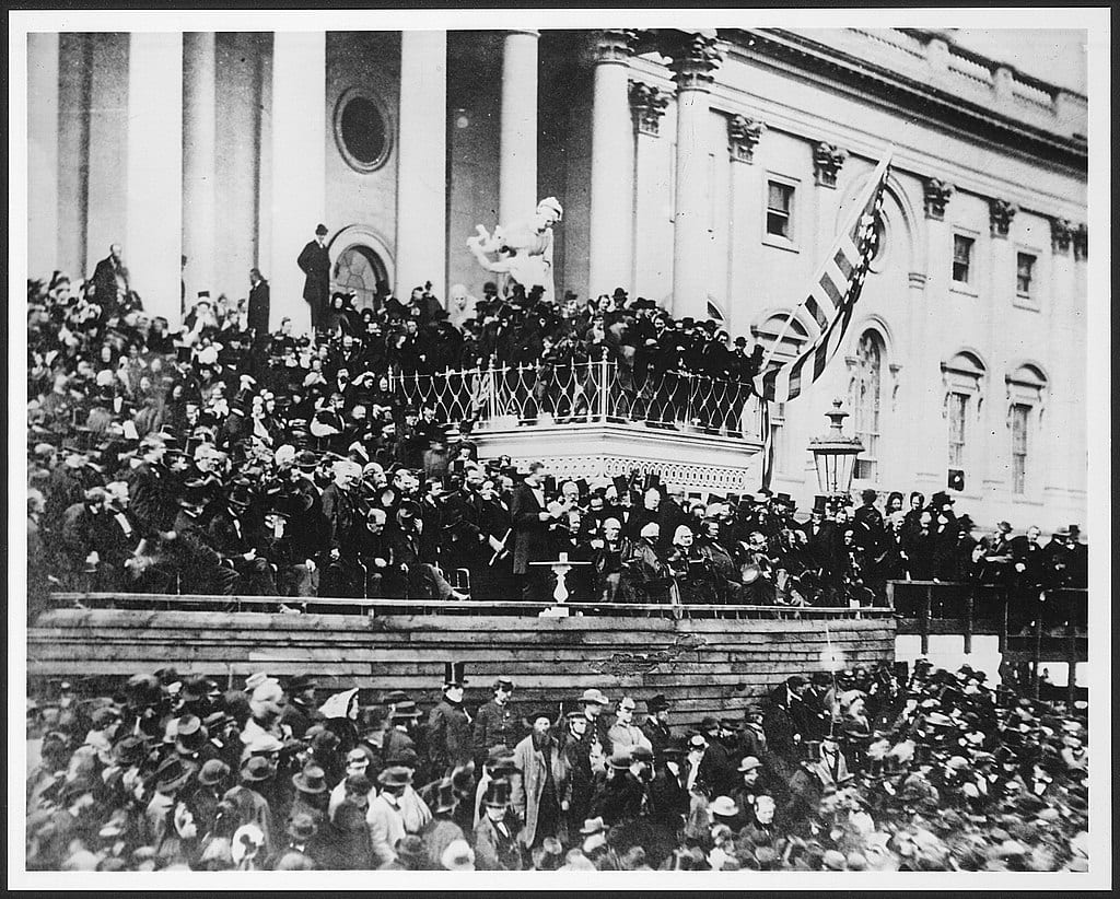 Lincoln's Second Inaugural Address, March 4, 1865