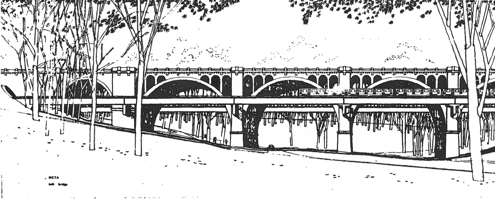 Metro's Taft Bridge Plan with Tracks on Side