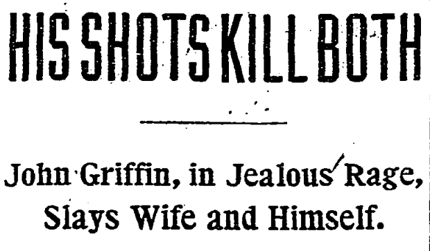 Washington Post headline - March 18th, 1912