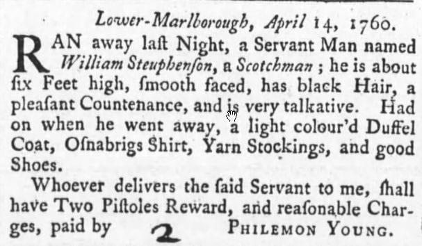 May 1st, 1760