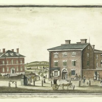 What F Street Looked Like in 1817