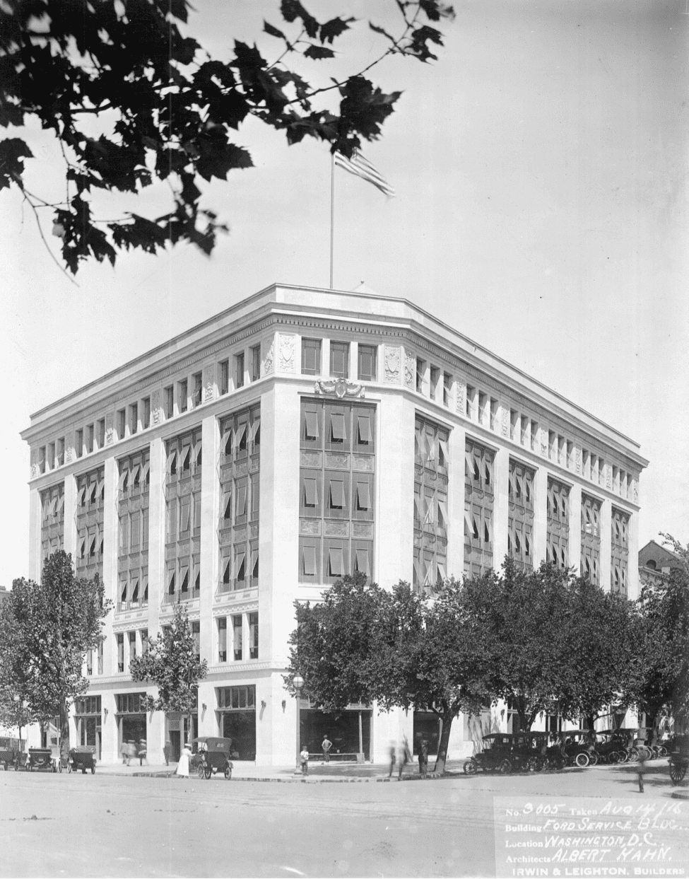 Ford's Washington branch building